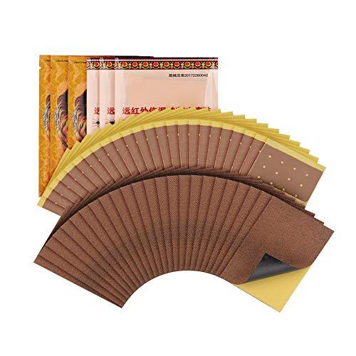 Schmerzlinderung Patch, 48 Stück Kräuterpflaster Ferninfrarot Magnetpflaster für Rückenschmerzen, Schulter, Gelenkschmerzen, Muskelschmerzen, Bandscheibenvorfall
