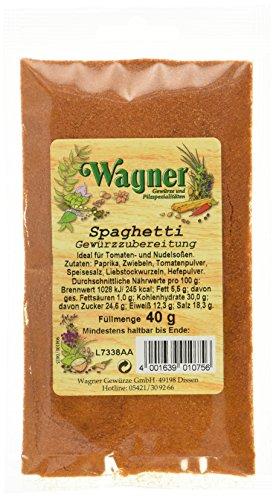 Wagner Gewürze Spaghetti Gewürzzubereitung (1 x 40 g)