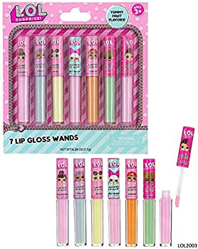 7-Pack L.O.L Surprise Flavored Lip Gloss for Kids