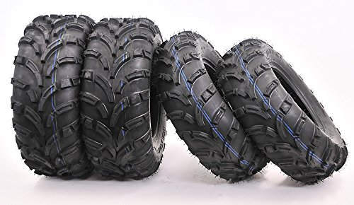 Full set WANDA ATV/UTV Tires 25x8-12 Front & 25x10-12 Rear /6PR