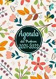 Agenda del Profesor 2021-2022: Grande Cuaderno del Profesores 2021 2022 A4 -flowers- semana vista español, Calendario...