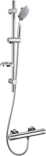 Therm-Oz Thermostatic Shower Reno K it Complete Fully Approved AU/NZ, Chrome (RK001)