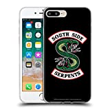 Head Case Designs Offizielle Riverdale South Side Serpents Grafik Kunst Soft Gel Huelle kompatibel mit iPhone 7 Plus/iPhone 8 Plus