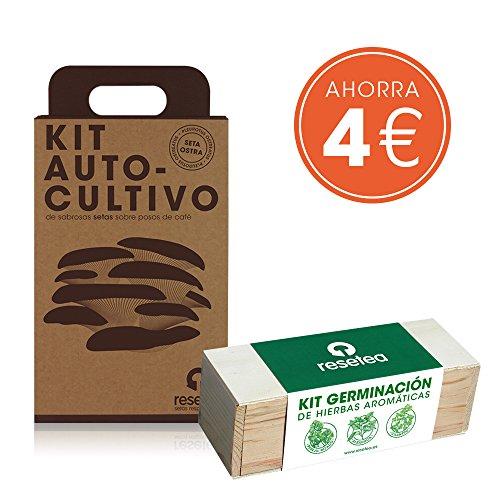 Pack Ahorro Kit Setas + Kit Aromáticas