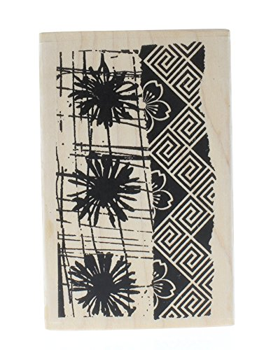 Dandelion Print Fresh Flowers Stampington And Co Wooden Rubber Stamp