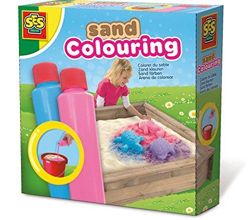 SES Creative - 02211 - Coloriage du sable bleu-rose