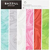 Bazzill Basics Cardstock Pad 6'X6' 24/Pkg, Marble