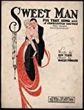 "sheet music cover: ""Sweet Man"""