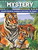 Mystery Colors Color by number & discover The Magic: Color by Number Coloring Book with Fun, Easy, and Relaxing Country Scenes, Animals, Mystery ... Magic Adult Color By Number Coloring Books