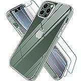 Wiselead Cover per iPhone 12 PRO Max, Custodia per iPhone 12 PRO Max - Trasparente 6.7 Pollici