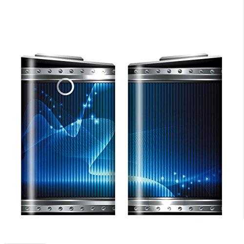 グローシール glo グロー シール glo グロー専用 スキンシール 電子タバコ ステッカー 01 メタル METAL 01-gl0039