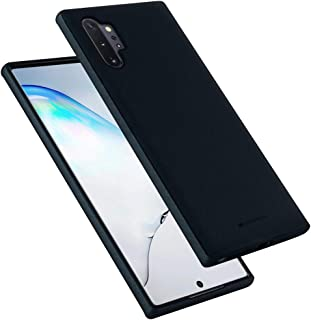 Goospery Style Lux Jelly for Samsung Galaxy Note 10 Plus Case (2019) Thin Slim Bumper Cover (Navy Blue) NT10P-STYL-NVY