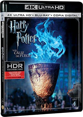 Harry Potter y el Cáliz de Fuego 4k UHD [Blu-ray]