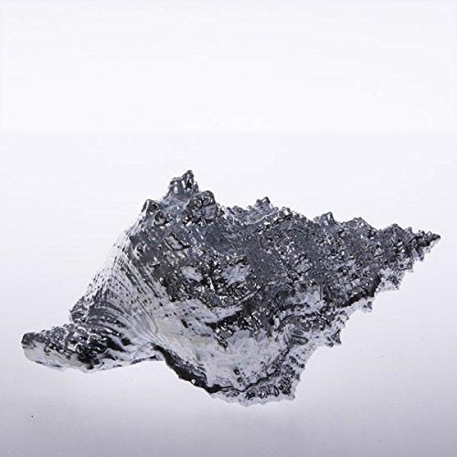 Schneckenmuschel en céramique - 16 cm-argent - 50057