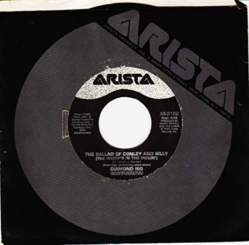 45vinyl THE BALLAD OF CONLEY AND BILLY (The Proof's In The Pickin) / MEET IN THE MIDDLE (7'/45 rpm)