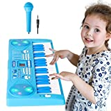Shayson Piano for Kids, 37 Key Multi-function Electronic Keyboard Piano Play Piano Organ with Microphone...