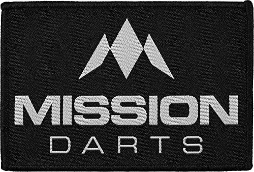 Mission Darts - Aufnäher zum Aufbügeln – Dartpfeile – gewebtes Abzeichen