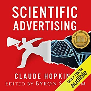 Scientific Advertising audiobook cover art