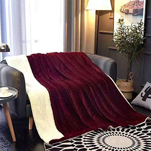 LJHSS Kuscheldecke Fleecedecke Flanell Heimdecke Einfarbig Wohndecken Couchdecke Flauschig Überwurf Mikrofaser Tagesdecke Sofadecke Blanket Für Bett Sofa Schlafzimmer - Pflegeleicht - Warm, Langlebig