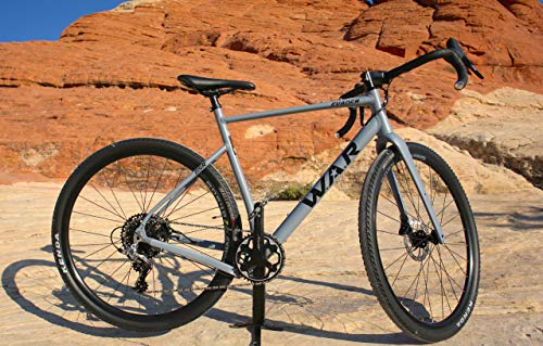 W.A.R Gravel Evader GSR (Gravel Sport Race) Road Bike, 11 Speed, Lightweight, Disc Brakes, Available in XS, S, M, L and XL (X-Small 50cm)