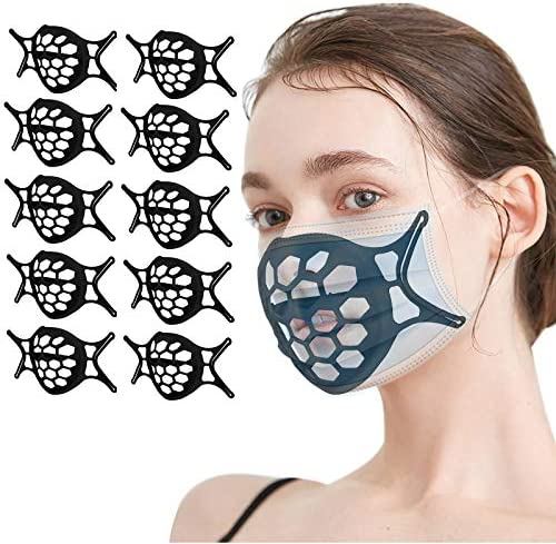 3D Silicone Face Mask Bracket for Comfortable Wearing Inner Support Frame Face Holder Stand product image