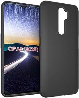 YEZHU OPPO A5 2020 / OPPO A9 2020 ケース カバー 弾力性付き落下防止 衝撃吸収 防指紋 OPPO A5 2020ケース(ブラック)