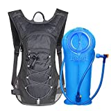 Unigear Trinkrucksack mit 2L Trinkblase Hydrationspack Fahrradrucksack für Joggen, Wandern,...