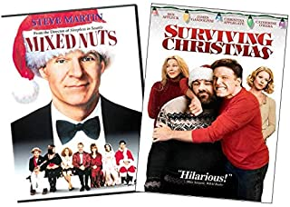 Sponsored Ad - Christmas Comedy Double Feature DVD Collection: Mixed Nuts (1994, Steve Martin) / Surviving Christmas (2004...