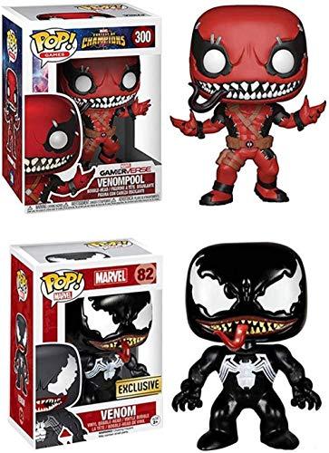 Pop Venom 2018 Película Parasitic Dolls Modelo Coleccionables Regalos interesantes Decoraciones para Coches PVC en Caja 10cm-C