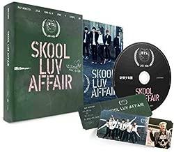 BTS - Skool Luv Affair (2nd Mini Album) CD+Photo Booklet+Photocard Extra Gift Photocard