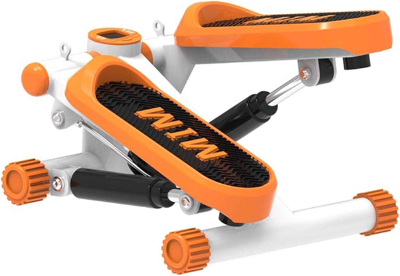 FAINT Stepper Home Small Mute Stepper mit elektronischer Anzeige Fitnessgerte Rutschfestes Pedal Hydraulischer Stepper