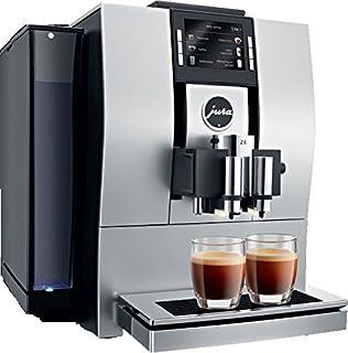 Jura 15129 Z6 Aluminium Espresso Maschine, 1450 W, 2 Cups, Mandel, Schwarz