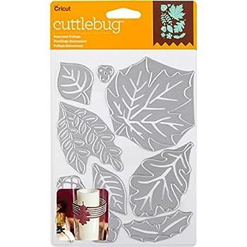 Cricut Cuttlebug Dies Seasonal Foliage