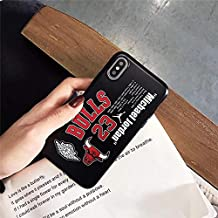 1 piece GYKZ Sports Kobe Jordan 23 Basketball Phone Case For iPhone X XS MAX 6 6s 8 Plus Curry Soft Back Cover For iPhone 7 Matte Coque