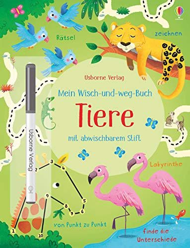 Mein Wisch-und-weg-Buch: Tiere
