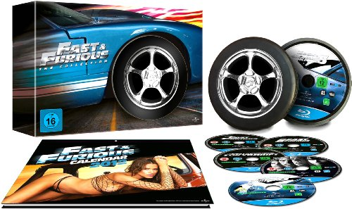 Fast & Furious - The Collection 1-5 [Blu-ray]