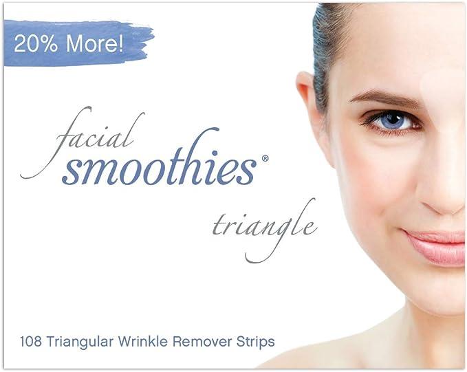2894 opinioni per Facial Smoothies Triangle, Strisce viso antirughe, 108 cerotti triangolari
