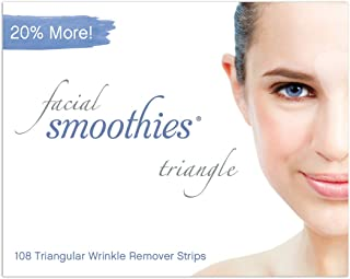 Facial Smoothies Parches Antiarrugas Forma Triangular 108 unidades