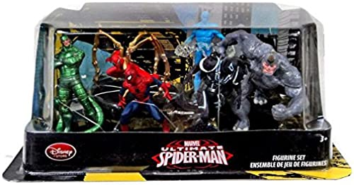 Disney Store Marvel Ultimate Spider-man Figure Play Set