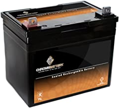 riding mower battery amps