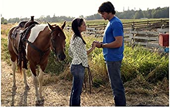 Smallville Tom Welling as Clark Kent Holding Hands with Lana Lang 8 x 10 Inch Photo