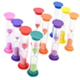 Sand Timers Combo Pack, 12PCS Plastic...