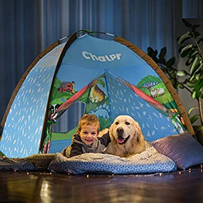 Amazon - Save 42%: Chalpr Play Tent for Kids,Indoor Pop Up Playhouse Tent for Age 3…