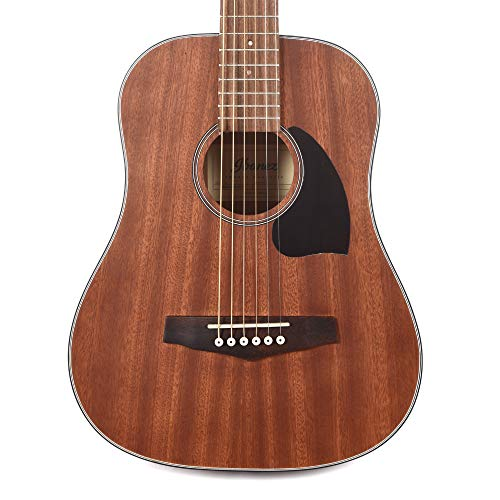 Ibanez 3/4 Mini Dreadnought Acoustic Guitar, Open Pore Natural