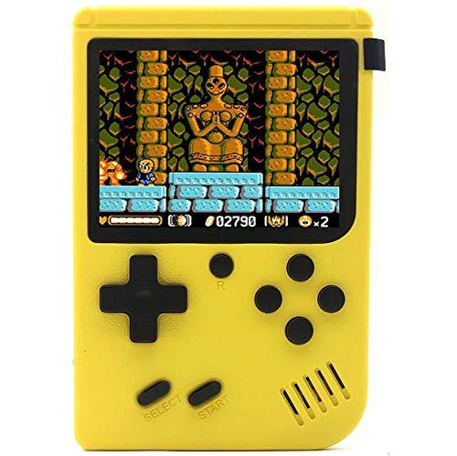 O RLY 800 in 1 Consola de Juegos Portátil Retro Game Player Console de Juegos Clásica (Giallo)