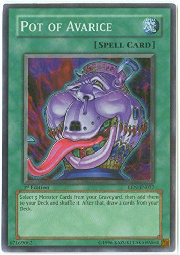 Yu-Gi-Oh! - Pot of Avarice (EEN-EN037) - Elemental Energy - Unlimited Edition - Super Rare