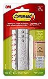 Command Large Universal Frame Hanger, 3-Hangers, 6-Strips, 6-Frame Stabilizer Strips, Decorate Damage-Free