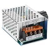 4000W AC 220V Régulateur de tension électronique de puissance élevée SCR Régulateur de gouverneur Régulateur de vitesse de thermostat de gradateur