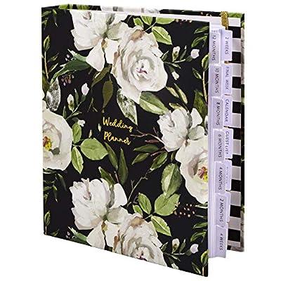The Dream Wedding Planner | Luxury Wedding Organizer Book with Beautiful Souvenir Gift Box | Perfect Wedding Journal for Brides | Checklists, Calendar, Budget Planning, Guest List | White & Flowers