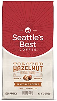 Seattle's Best Coffee Toasted Hazelnut Flavored Medium Roast Ground Coffee